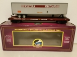 MTH 20-98681 Western Maryland Flat Car w/ 48' Trailer NEW