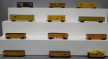 AHM and Other HO Union Pacific Freight Cars: 62040, 518125, 113218, 47630, 49922