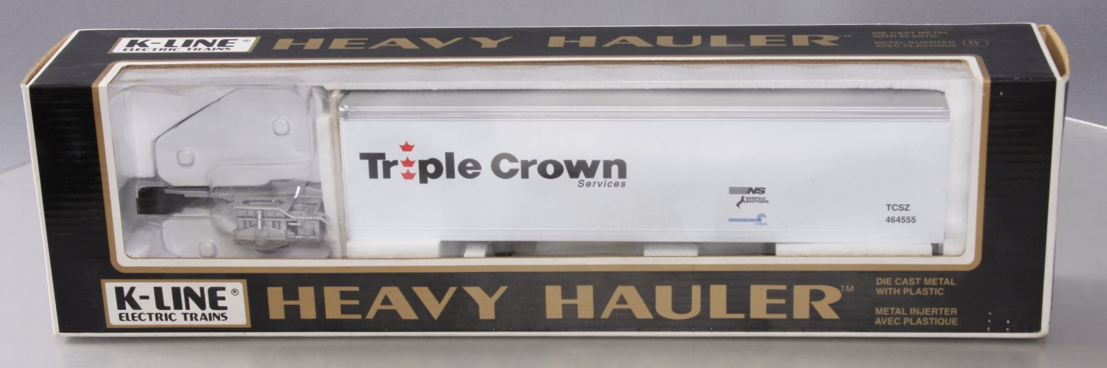 Buy K-Line K464555 Triple Crown Heavy Hauler LN/Box | Trainz