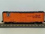 Lionel 6-27317 Santa Fe Reefer 3495 orange NIB