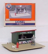 Lionel 6-14085 Animated Newsstand LN/Box