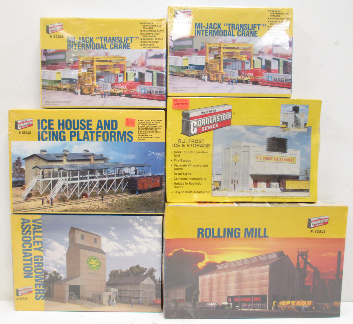 Buy Walthers N Scale Cornerstone Series Industrail Buildings