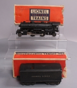 Lionel 1655 Lionel Lines 2-4-2 Steam Locomotive w/6654W Tender/Box