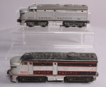 Lionel 2023 Union Pacific Alco AA Diesel Locomotive Set - Partially Repainted