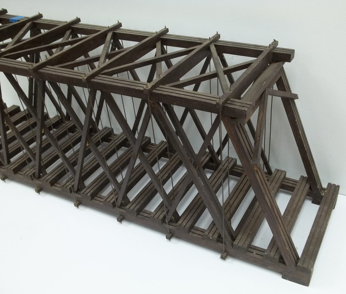 Buy G Scale Custom Built 41 Wooden Truss Bridge Trainz Auctions