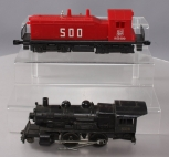 Lionel 6-8310 Jersey Central Lines 2-4-0 Steam Locomotive & 6-8569 SOO Line NW2