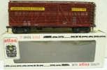 Atlas 6221 Armour O Scale 2-Rail Stock Car LN/Box