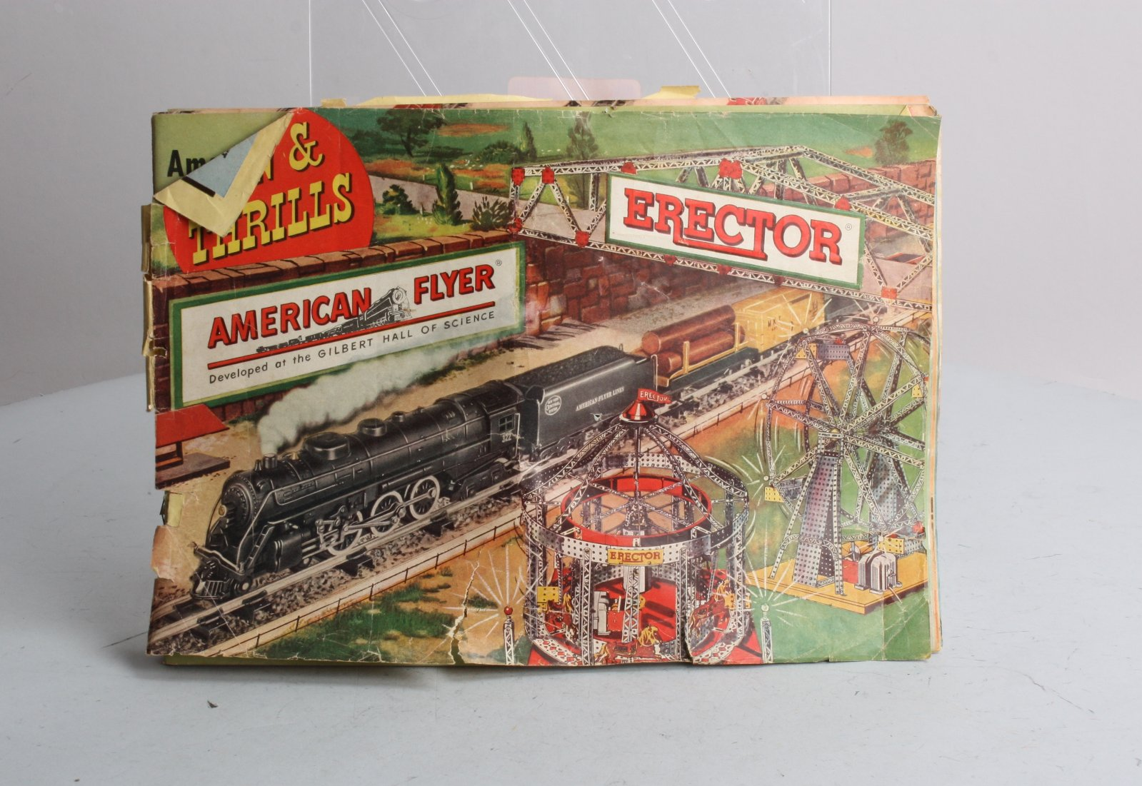 Buy American Flyer Fun & Thrills Erector Catalog | Trainz