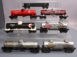 Lionel O Postwar Repainted Freight Cars: 6555, 2465, 6462 [7]