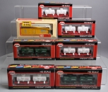 Model Power, Train-Minatures HO Scale Freight Cars (7)/Box