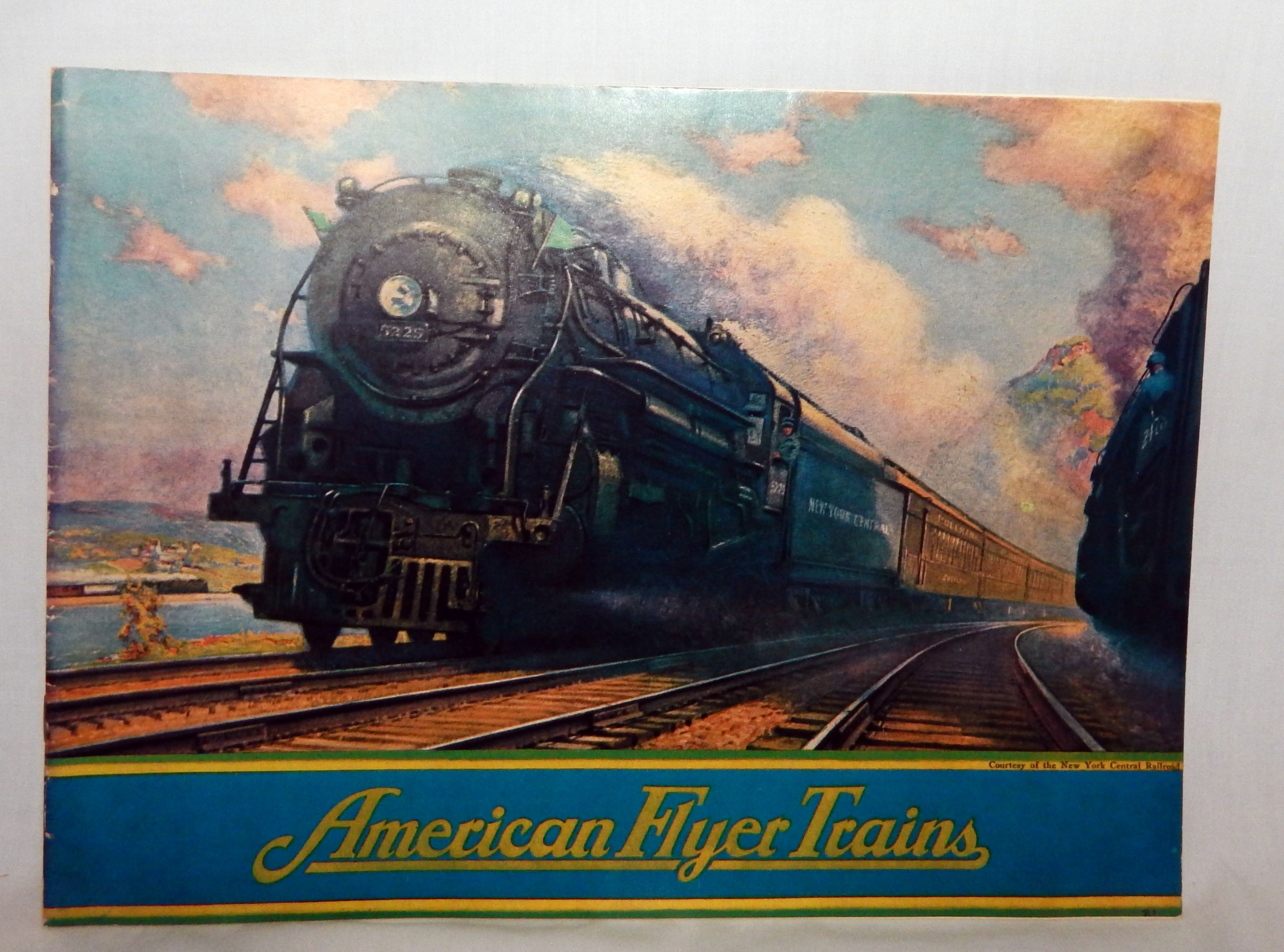 Buy Prewar American Flyer 1931 Train Catalog Color 1970's