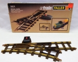 Vintage Faller E-Train 3831 Right Hand Switch Turnout brass track BOXED WGermany