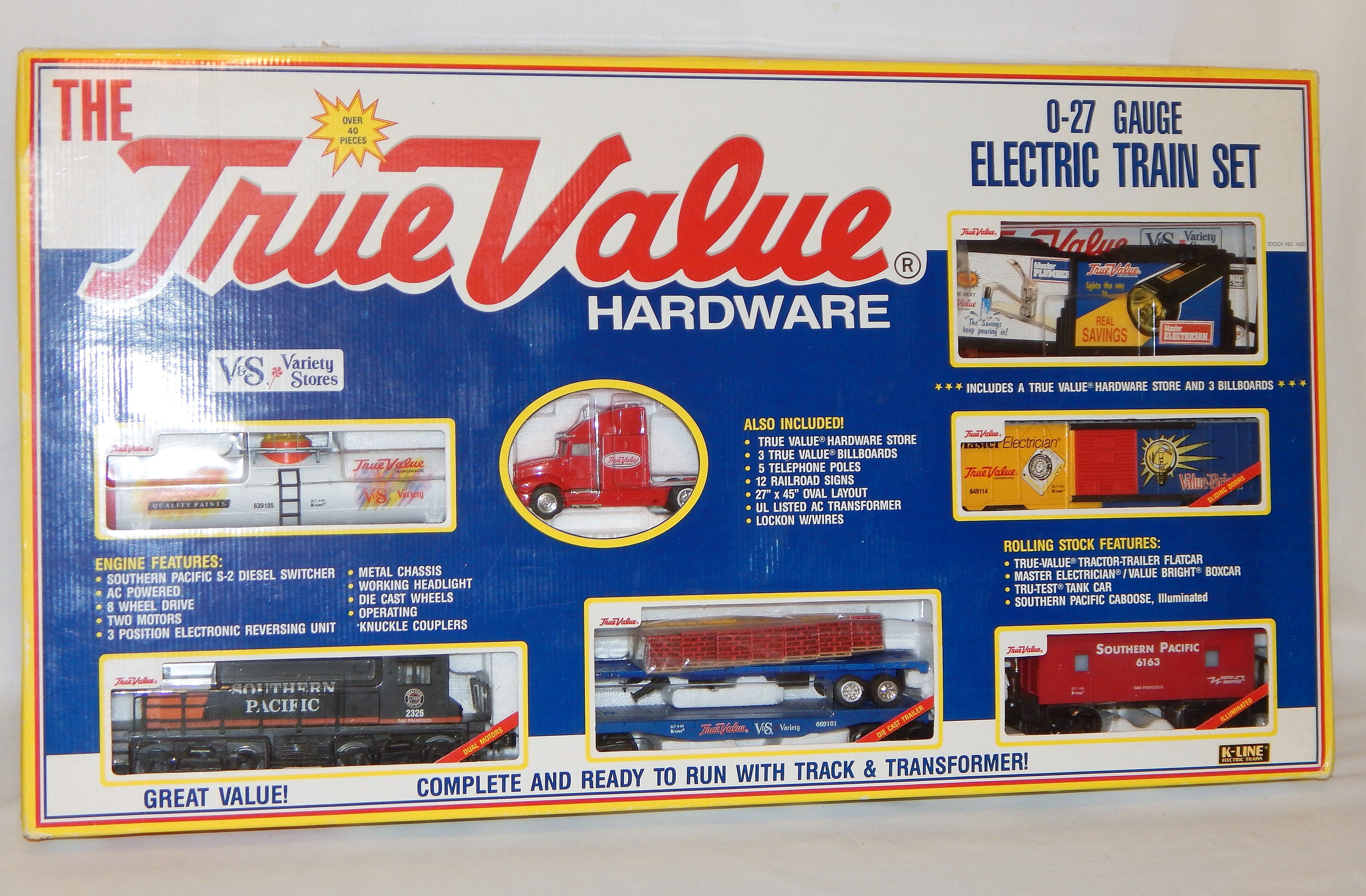 Buy K Line 1420 True Value Hardware Lionel Compatible Electric Train Track Wiring Photo From Seller