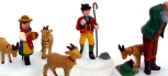 Dept 56 56201 Heritage Village Collection Heidi & Her Goats NIB