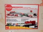 K-Line Coca Cola Freight Set Diesel Engine Freight Cars O27 VERY LIMITED K-1611
