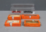 Lionel HO 0801-200 & 0805 Freight Car and [4] Empty Boxes