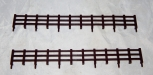 Lionel Trains Part 2 long sections brown FENCE for General Horse Flat Car 1877
