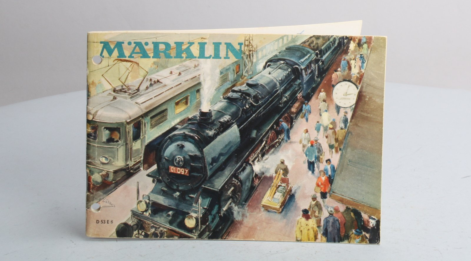 Buy Marklin D53E 1953 Vintage Product Catalog | Trainz Auctions