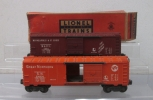 Lionel 6464-25 Great Northern Boxcar & 6464-50 Minneapolis & St. Louis Boxcar