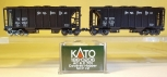 Kato 186-0206 N Scale Nickel Plate Road 2-Car Covered Hopper Set LN/Box