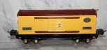 CLEAN Prewar Lionel 2814 Automobile Furniture Box Car Yellow/Tuscan Nickel Auto