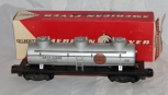 CLEAN American Flyer 926 GULF 3 Dome Tank Car in  red/whi box stamped 24312 1957