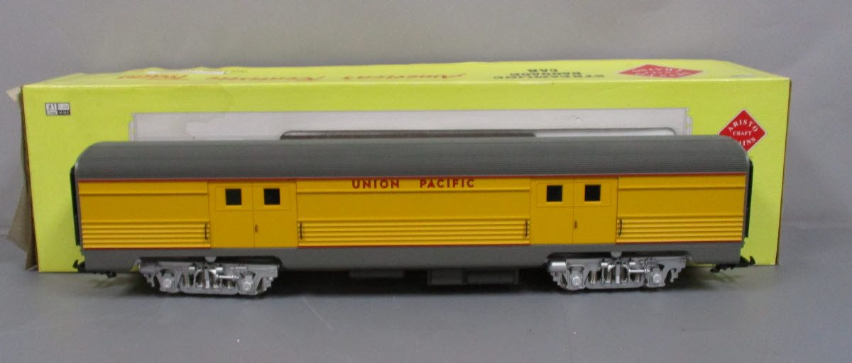 Aristo-Craft 32204 G Union Pacific Streamlined Baggage Car w/ Metal Wheels LN  Aristo-Craft 32204