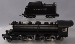Custom Built G Gauge 2-4-4-2 Steam Locomotive and Tender
