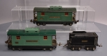 Lionel 817 Tinplate Lionel Lines Cabooses & Tinplate Tender (3)