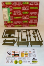 LGB 5033 G Gauge Transit Train Stop Sign Set Germany NOS G Scale accessory boxed
