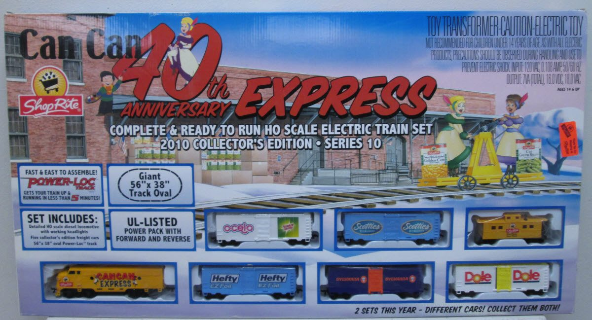 Buy Life Like 433-8858 ShopRite Can Can 40th Anniversary Express HO