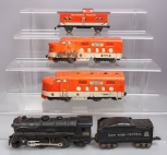 Marx O Gauge Vintage Locomotives & Caboose (4)