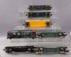 Lionel, MTH & Other O Scale Assorted Erie Freight Cars; 6-7200, 6-7303, 6-16932,