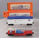 Lionel O Postwar Freight Cars: 3665 Minuteman Missile and 3349 Turbo Missile [2]