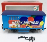 LGB 4435 HB G Scale Happy Birthday Freight Car LN/Box