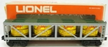 Lionel 6-9132 Libby's Crushed Pineapple Vat Car LN/Box
