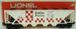 Lionel 6-9262 Ralston Purina Checkerboard Quad Hopper EX/Box