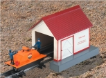 American Flyer 6-49815 S Scale Handcar With Shed #741 LN/Box