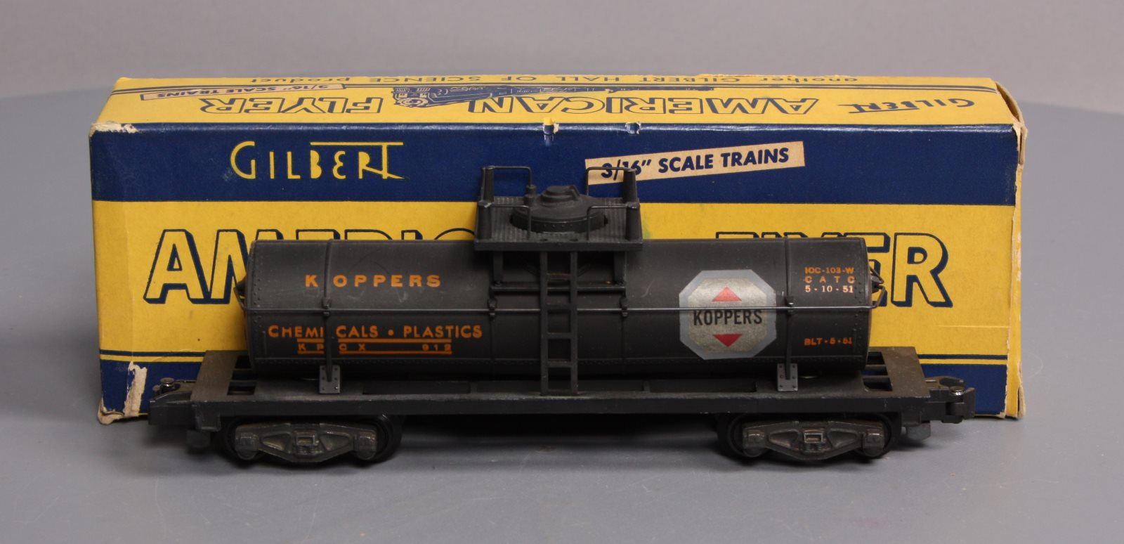 Buy American Flyer 912 Koppers Tank Car/Box | Trainz Auctions