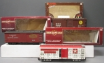 Lionel and Bachmann G Scale Freight Cars: 87000, 588, Circus Horse Car [3]/Box