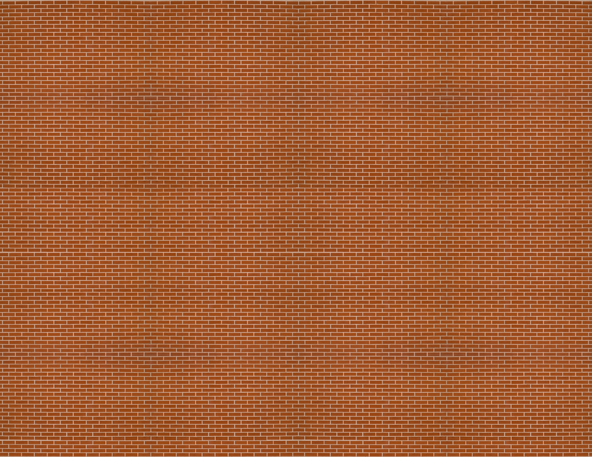 HO Scale Brick Model Train Scenery Sheets –5 Seamless 8.5x11 Coverstock Dk Maroon