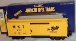 American Flyer 6-48332 MKT Boxcar Missouri Kansas Texas Yellow #937 S gauge
