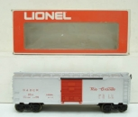 Lionel 6-9714 Denver and Rio Grande Western Silver Box Car NIB