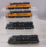 HO Scale Chessie and Baltimore & Ohio Powered Diesel Locomotives [4]