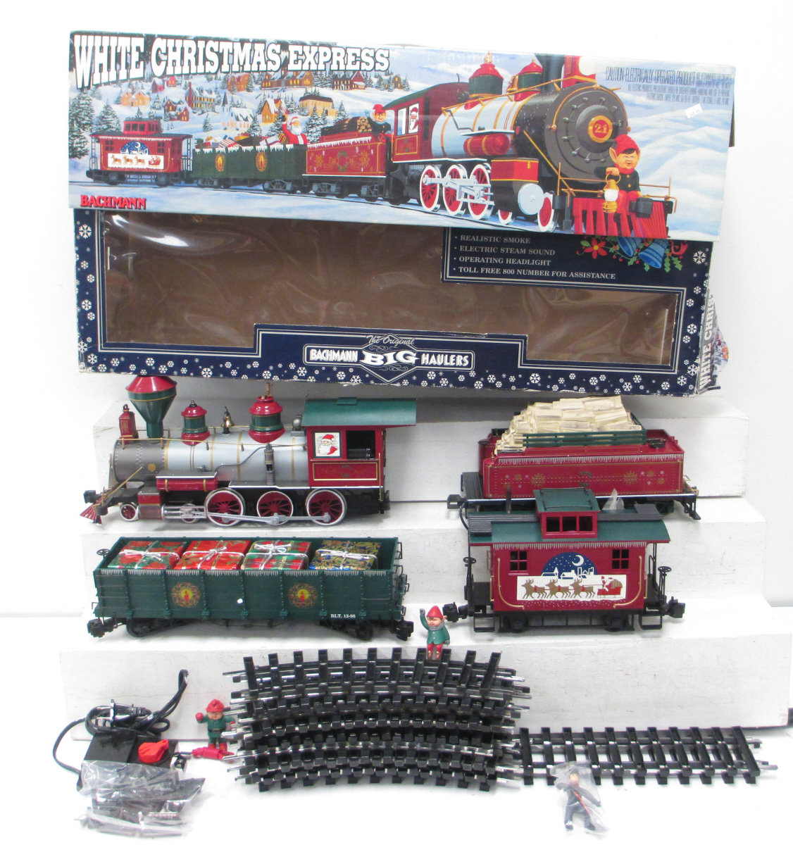 Buy Bachmann 90023 White Christmas Express Train Set/Box ...