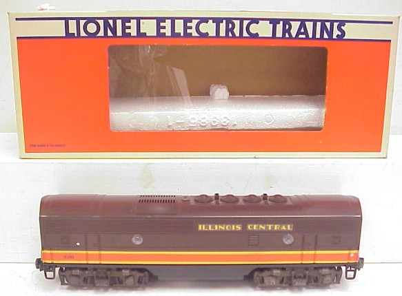 Lionel 6-8581 Illinois Central F3 Dummy Unit EX/Box 023922685810 Lionel 6-8581