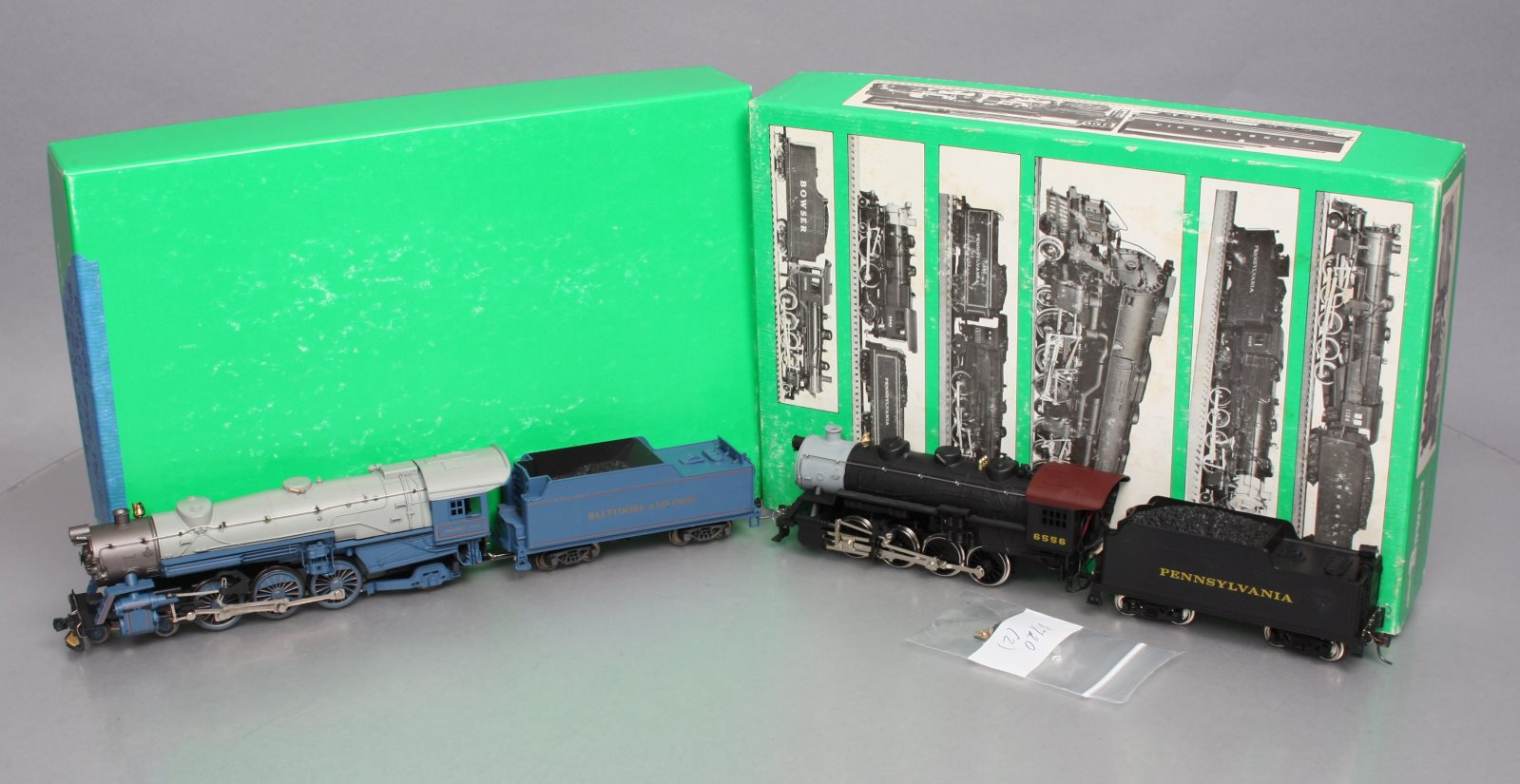Buy Rivarossi & IHC HO Scale B&O and PRR Steam Locomotives with