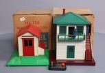 Lionel 125 Operating Whistle Shed & 445 Operating Watchman Tower/Box