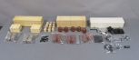 G Scale Lumber Loads, Barrels, & Partial Shay Locomotive Kit (Large Lot)
