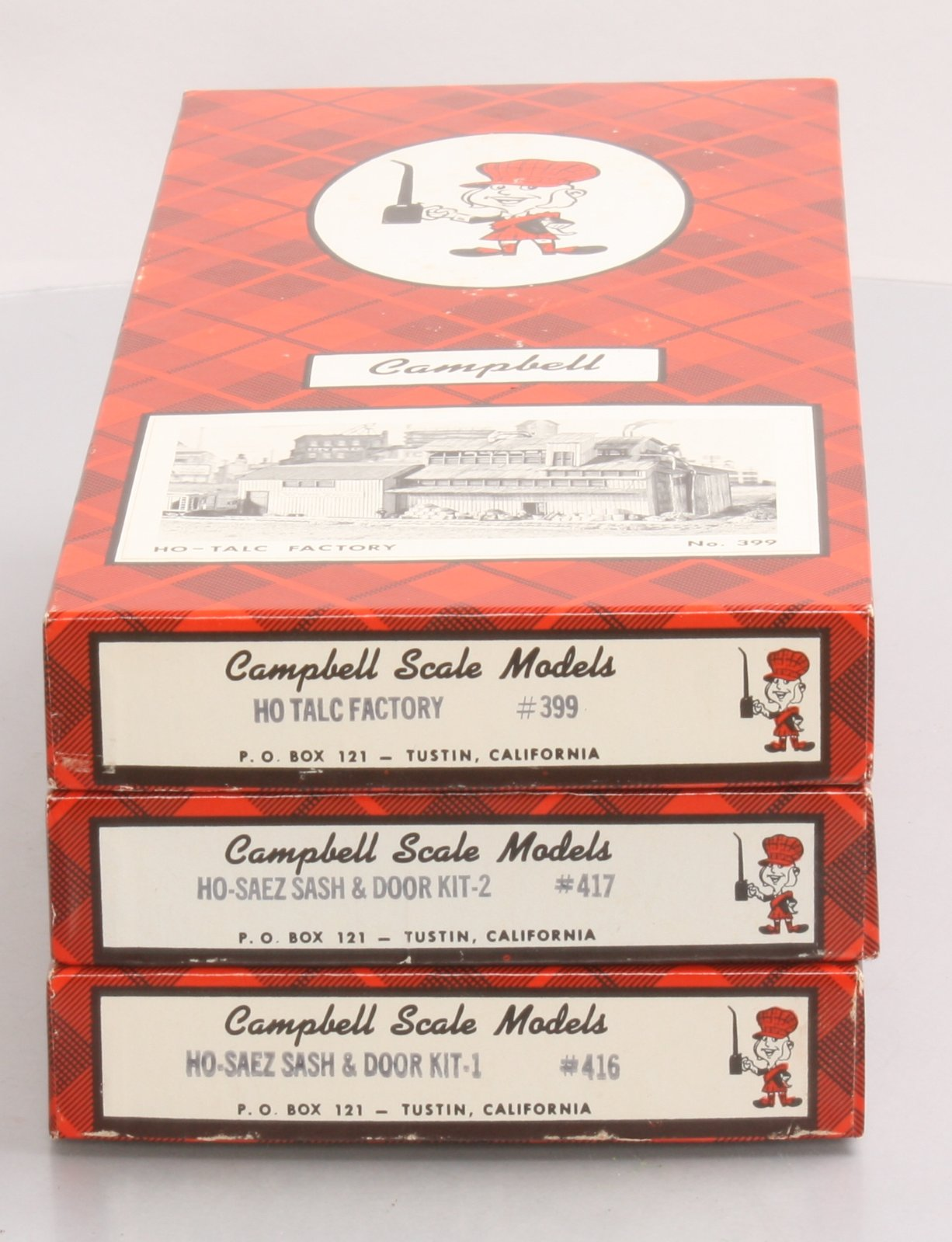 Buy Campbell HO Scale Wooden Building Kits: 399, 416 & 417